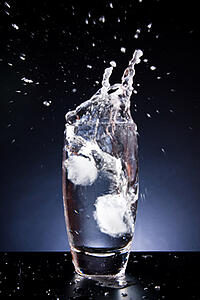 Ice Water Image