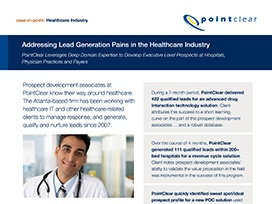 Case Study: Healthcare Lead Generation